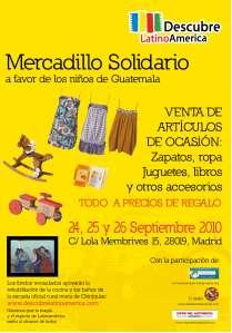 Cartel Mercadillo Descubre Latinoamérica
