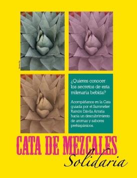 Cata de Mezcales Solidaria